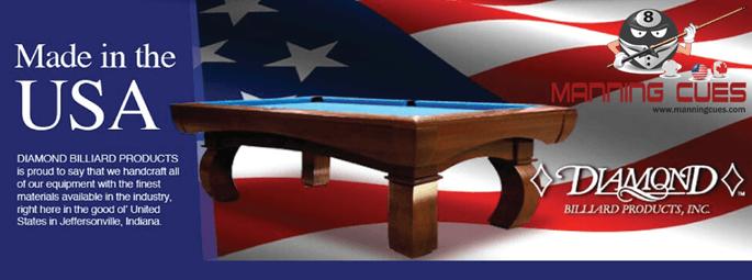 Diamond Pool Tables Diamond Proam Diamond Professional - United billiards pool table parts