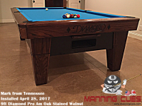 Mark's 9ft Pro AM Walnut Oak