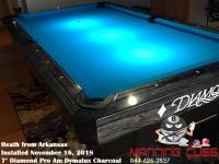 Heath's 7' Pro Am Dymalux Charcoal Table from Arkansas