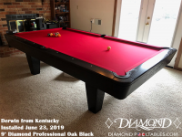 Derwin's 9' Professional Oak Black from Kentucky