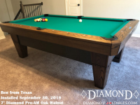 Ben's 7' Pro-AM Oak Walnut from Texas