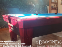 Ira's'7' Pro-AM Oak Rosewood from Florida