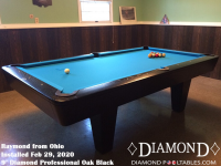Raymond's 9' Professional Oak Black from Florida