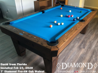 David's 7' Pro-AM Oak Walnut from Florida