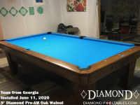Yuan's 9' Pro-AM Oak Walnut from Georgia