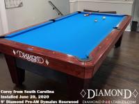 Corey's 9' Pro-AM Dymalux Rosewood from North Carolina