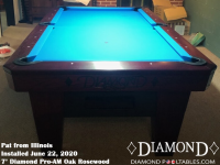 Pat's 7' Pro-AM Oak Rosewood from Illinois