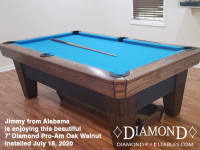 Jimmy from Alabama 7' Pro-AM Oak Walnut