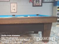 Dollie from Alabama 7' Pro-AM Oak Walnut