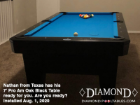 Nathan from Texas 7' Pro-AM Oak Black
