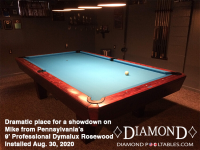 DIAMOND 9' PROFESSIONAL DYMALUX ROSEWOOD - MIKE FROM PENNSYLVANIA - IN AUG 30, 2020