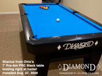 DIAMOND 7' PRO-AM PRC BLACK - SHARLUS FROM OHIO - IN AUG 27, 2020