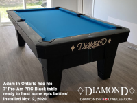 DIAMOND 7' PRO-AM PRC BLACK - ADAM FROM ONTARIO - INSTALLED NOVEMBER 2, 2020