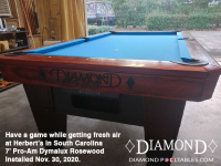 DIAMOND 7' PRO-AM DYMALUX ROSEWOOD - HERBERT FROM SOUTH CAROLINA - IN NOV 30, 2020