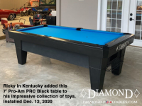 DIAMOND 7' PRO-AM PRC BLACK - RICKY FROM KENTUCKY - INSTALLED DEC 12, 2020