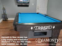 2DIAMOND 7' PRO-AM PRC BLACK - KENNETH FROM NEW JERSEY - INSTALLED JAN 20, 2021