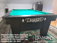 4DIAMOND 7' PRO-AM PRC BLACK - ROBERT FROM NEW YORK - INSTALLED JAN 22, 2021