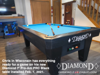 7DIAMOND 7' PRO-AM PRC BLACK - CHRIS FROM WISCONSIN - INSTALLED FEB 1, 2021