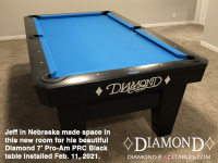 10DIAMOND 7' PRO-AM PRC BLACK - JEFF FROM NEBRASKA - INSTALLED FEB 11, 2021