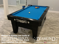 15DIAMOND 7' PRO-AM PRC BLACK - WILLIAM FROM KANSAS - INSTALLED FEB 24, 2021