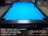 DIAMOND 7' PRO-AM PRC BLACK - JERRY FROM ALBERTA - INSTALLED MAY 3, 2021