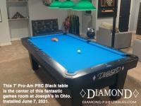 DIAMOND 7' PRO-AM PRC BLACK - JOSEPH FROM OHIO - INSTALLED JULY 7, 2021