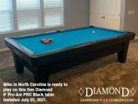 DIAMOND 9' PRO-AM PRC BLACK - MIKE FROM NORTH CAROLINA - INSTALLED JULY 25, 2021