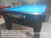 DIAMOND 9' PRO-AM PRC BLACK - JOE FROM NEW YORK - INSTALLED AUG 19, 2021