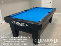 DIAMOND 7' PRO-AM PRC BLACK - TIM FROM ONTARIO - INSTALLED SEPT 16, 2021