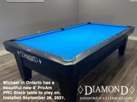 DIAMOND 9' PRO-AM PRC BLACK - MICHAEL FROM ONTARIO - INSTALLED SEPT 28, 2021