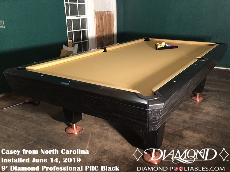 Cool Diamond Professional Pool Table Interior Design Ideas Ghosoteloinfo