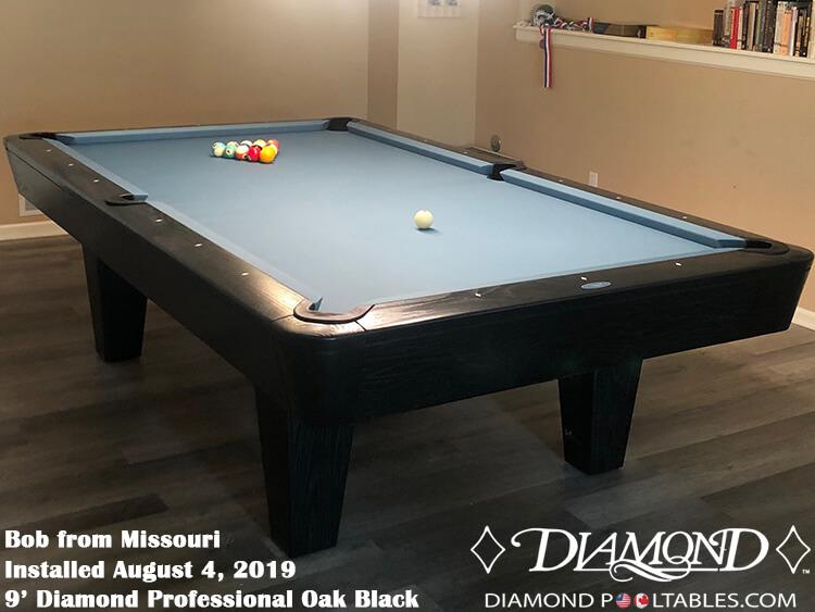 Sensational Diamond Professional Pool Table Home Interior And Landscaping Ponolsignezvosmurscom