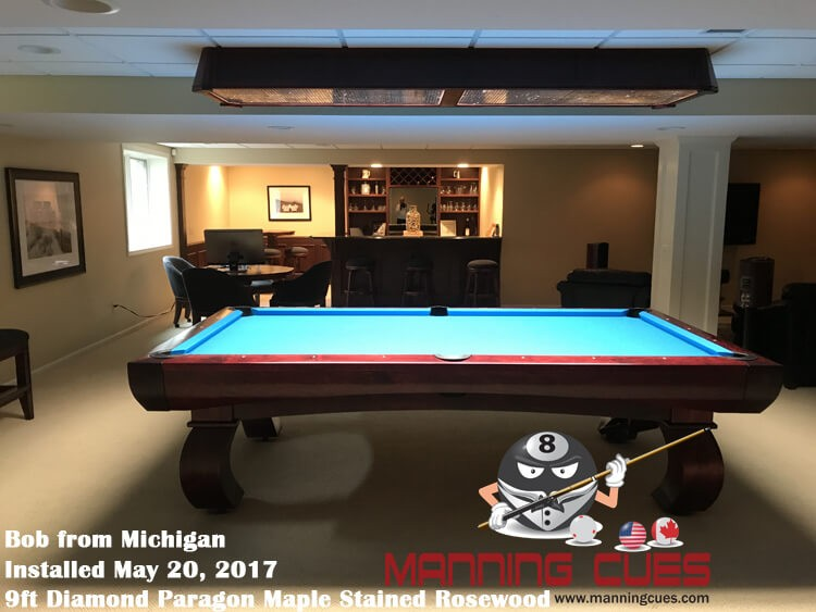Diamond Professional LED Table Light Foot - 7 foot diamond pool table