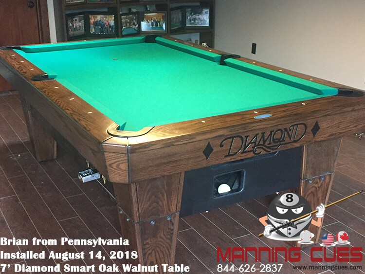 Diamond Smart Pool Table - How much room do i need for a pool table