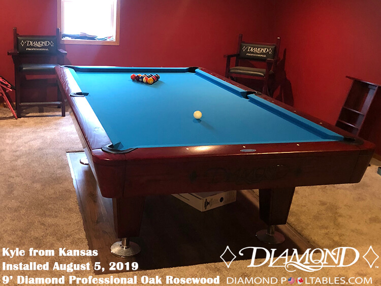 Incredible Diamond Professional Pool Table Home Interior And Landscaping Ponolsignezvosmurscom