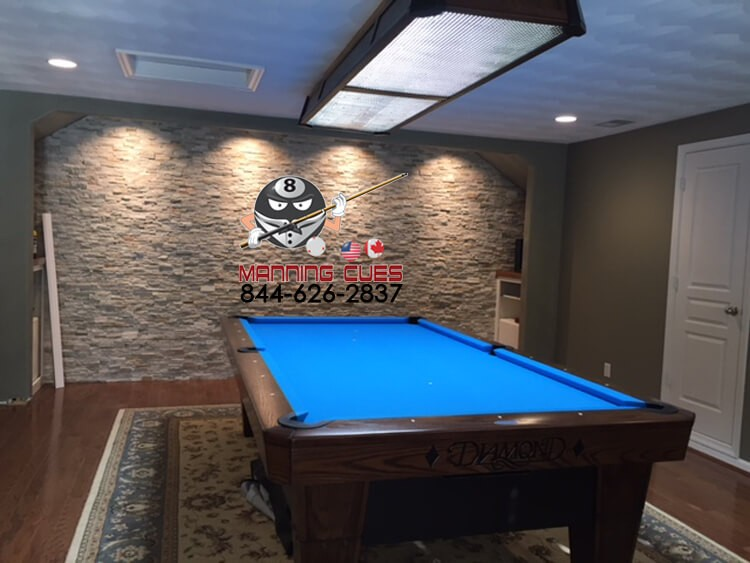 Diamond Professional LED Table Light Foot - 9ft diamond pool table