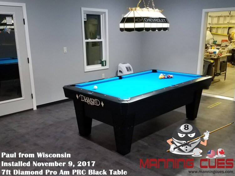 Paul's 7ft Pro Am Black PRC from Wisconsin