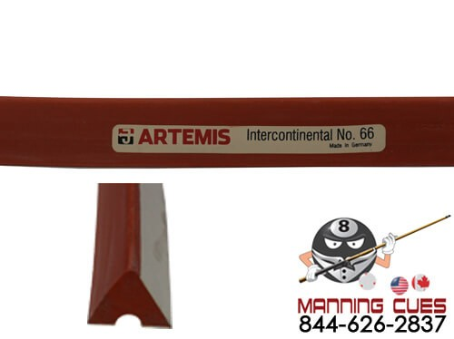 Artemis Intercontinental Pool No. 66 Rubber K55 Profile (set of 6)