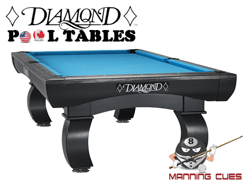 Diamond Paragon Pool Table - Tournament choice pool table
