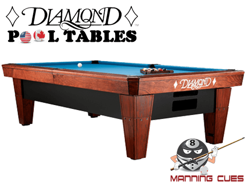 Diamond 9' Pro-Am Pool Table - Like New!