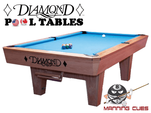 Diamond 9' Professional Pool Table - Like New!